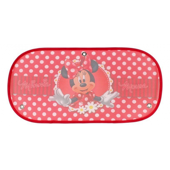 Auto zonnescherm Minnie Mouse rood