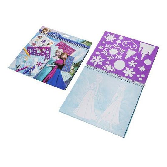 frozen knutselboek