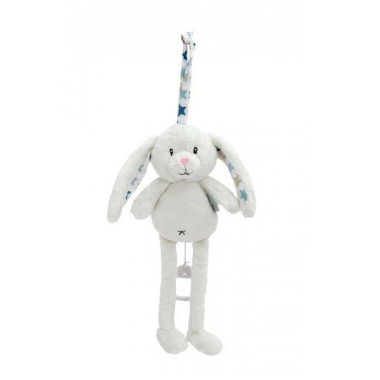Muziekdoosje konijn blauw