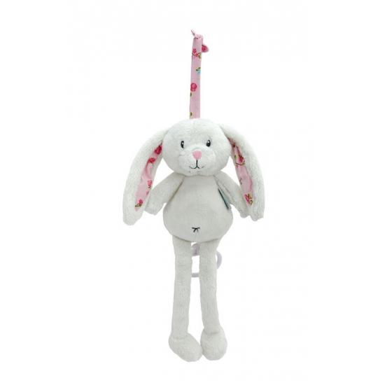 Muziekdoosje konijn roze