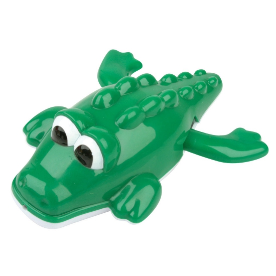 Opwindbare plastic krokodil bad dieren