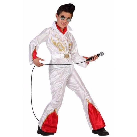 Rock ster kostuum met wijde pijpen voor jongens