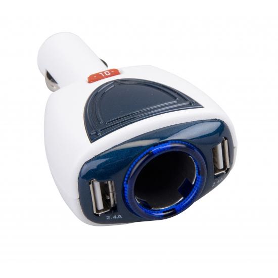 Telefoon auto acculader USB