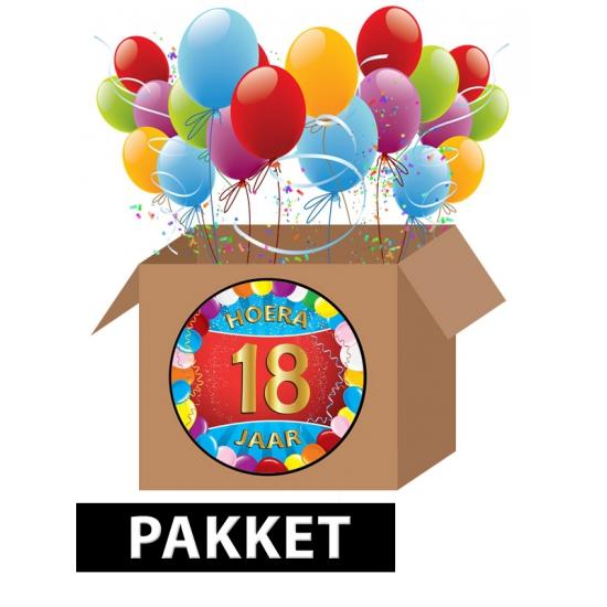 Verjaardag 18 Jaar Pakket Als Kado Versturen
