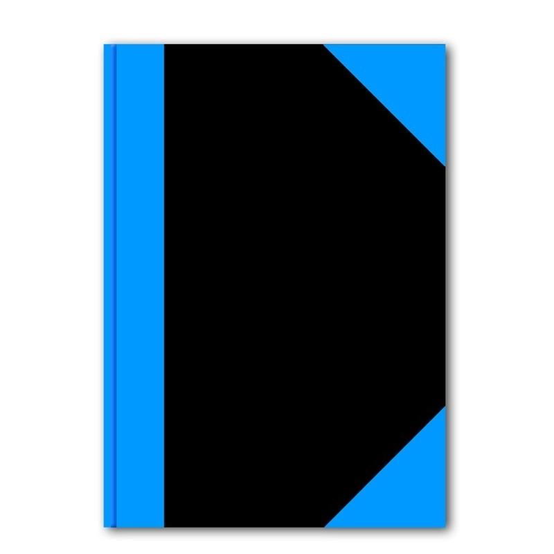 2x stuks luxe schriften zwart A5 formaat