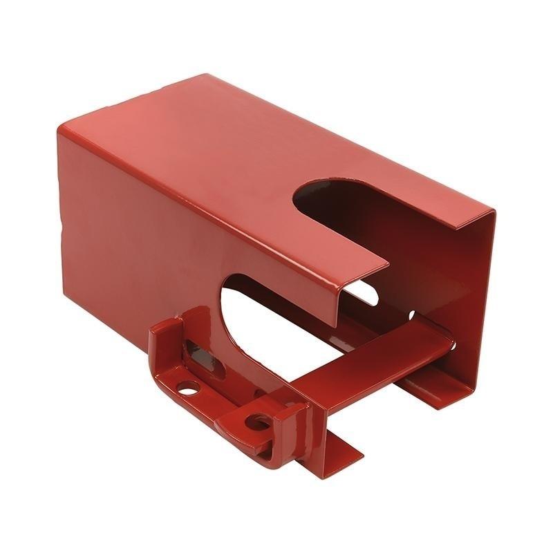 Aanhangerslot rood 110 mm