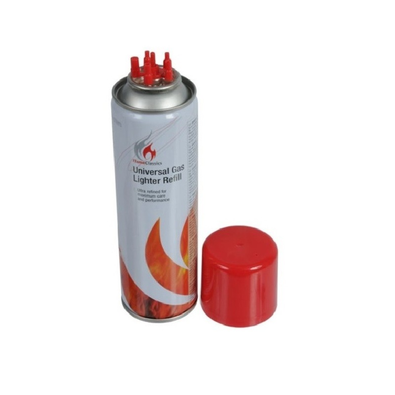 Aansteker gas - butaan gasfles 250 ml