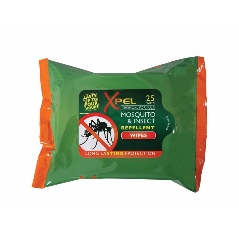 Anti muggen/insecten doekjes 25 stuks