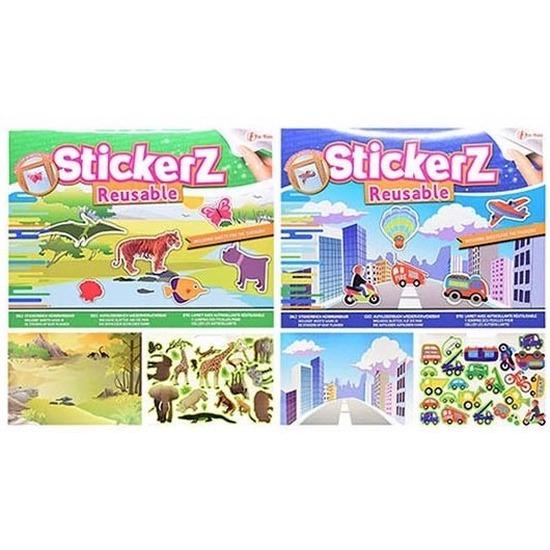 Autoraam stickerboekjes voor jongens