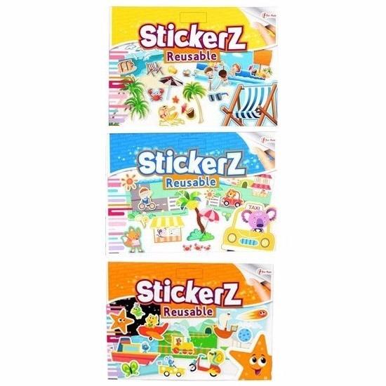 Autoraam stickers boeken 3 stuks