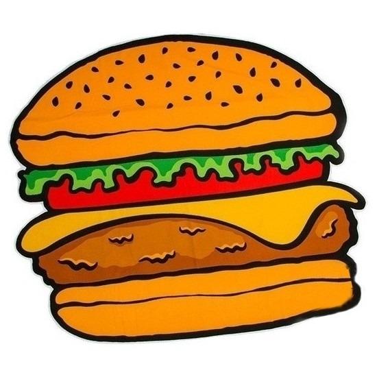 Badlaken hamburger 150 x 170 cm