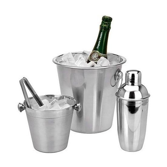 Barset - ijsemmer/koelemmer/cocktailshaker