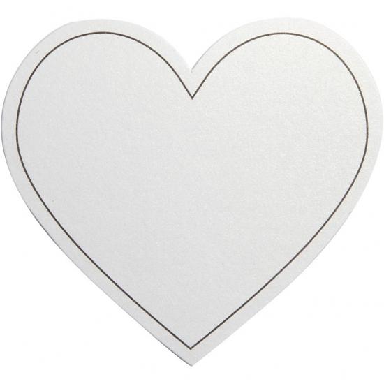 Blanco huwelijk uitnodigingen wit 10x