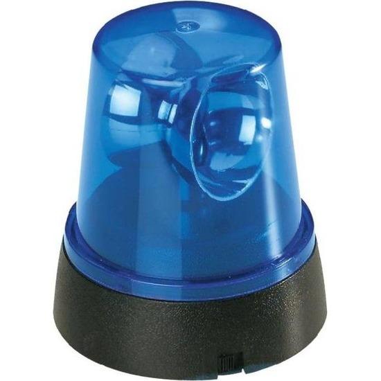 Blauw alarm met licht