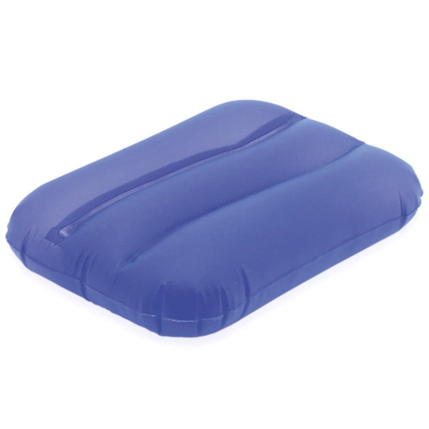 Blauw bad kussentje opblaasbaar