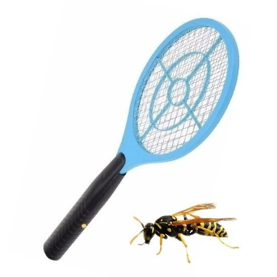 Blauwe elektrische wespenmepper/vliegenmepper