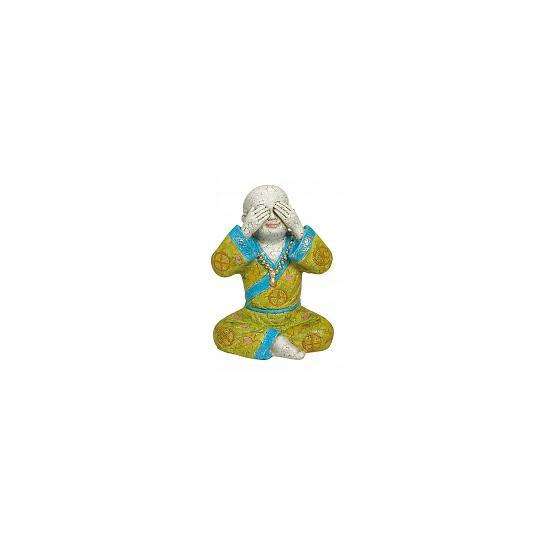 Boeddha tuinbeelden Zien 16 cm