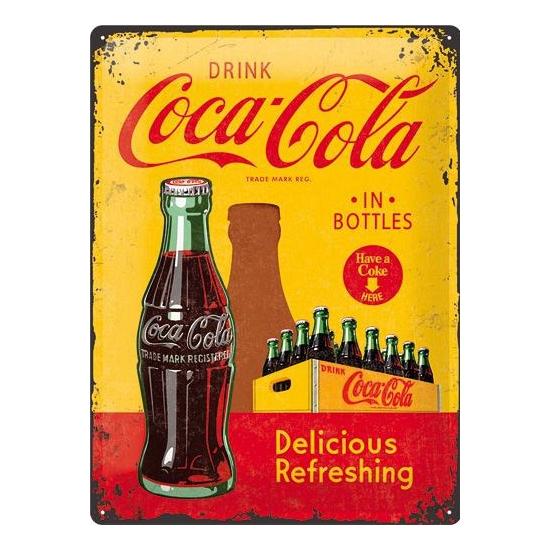 Cafe decoratie plaat drink Coca Cola