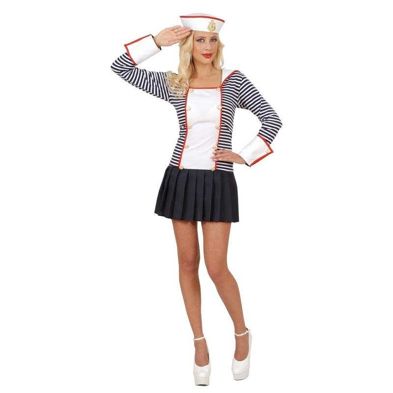Carnavalskleding matrozen jurkje voor dames