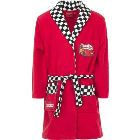 Cars badjas rood voor jongens