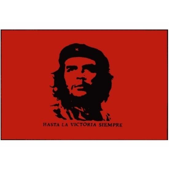 Ernesto Guevara vlaggen
