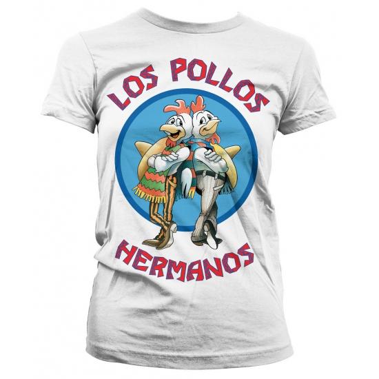 Feest Los Pollos Hermanos shirt wit