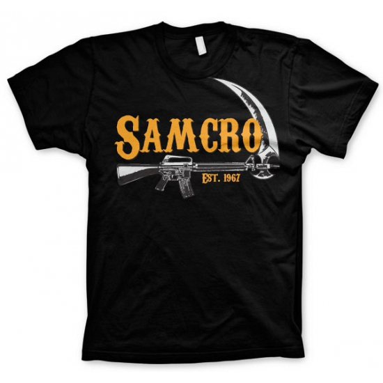 Feest t-shirt SAMCRO voor heren