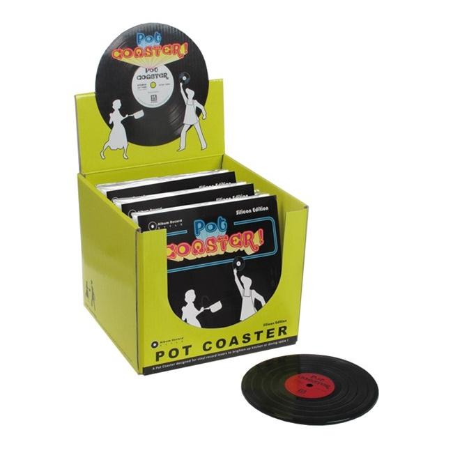 Funky onderzetters LP 1 stuks