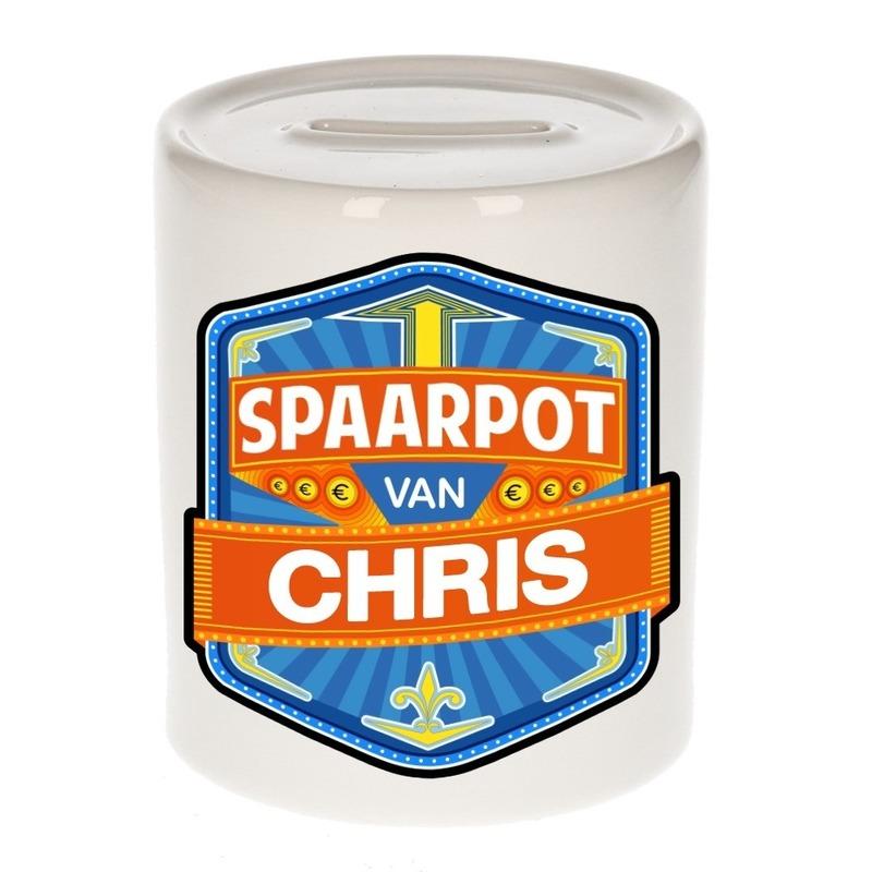 Gekleurde Chris spaarpotten voor kinderen