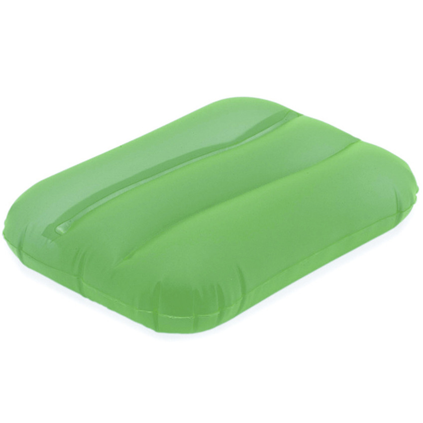 Groen bad kussentje opblaasbaar