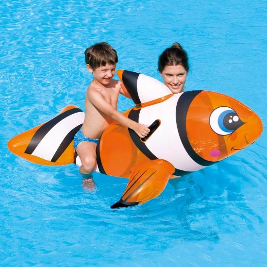 Grote Nemo vis opblaasbaar 157 cm