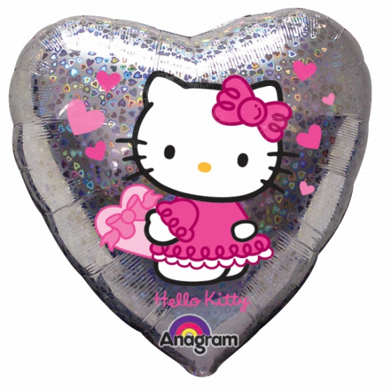 Hello Kitty folie helium ballon 45 cm
