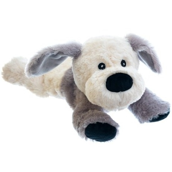 Honden knuffel kruik geboorteknuffel 18 cm