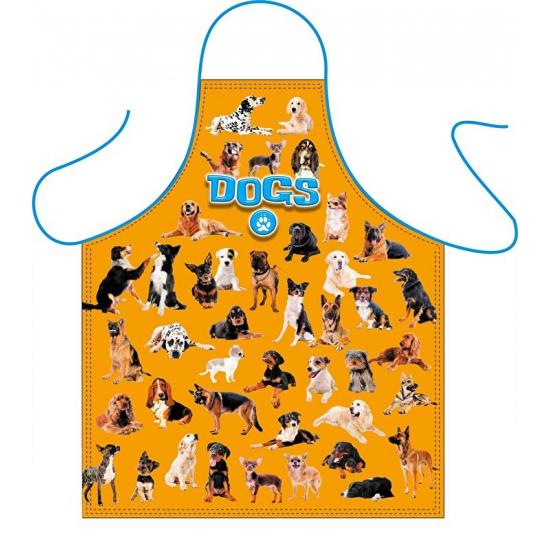 Honden liefhebbers keukenschort