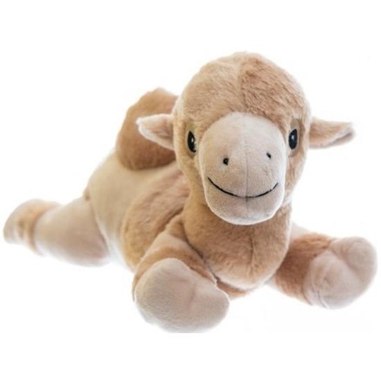 Kamelen knuffel kruik geboorteknuffel 18 cm