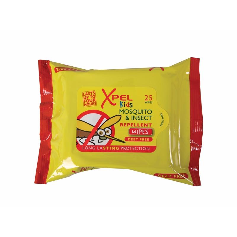 Kinder anti muggen/insecten doekjes 25 stuks