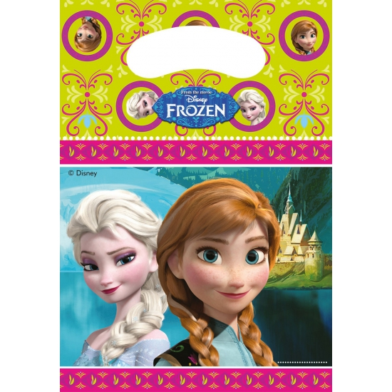 Kinderfeestje Frozen uitdeelzakjes