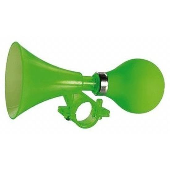 Kinderfiets knijp toeter groen