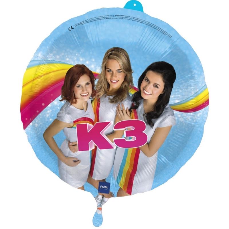Kinderverjaardag heliumballon K3