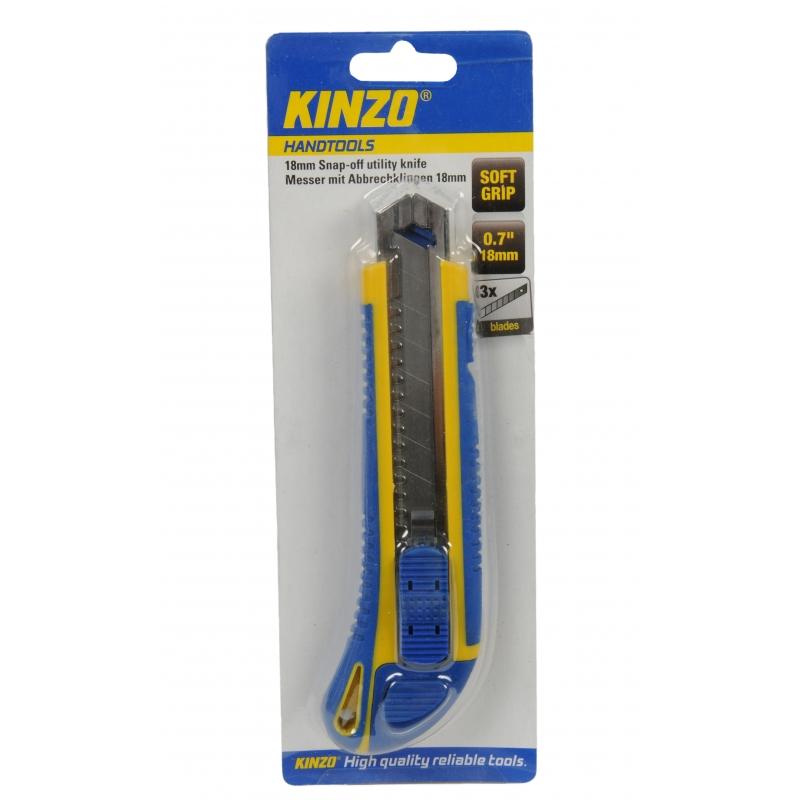Kinzo gereedschap mesje 18 mm