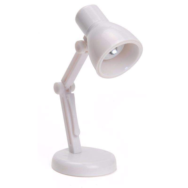 LED leeslampje retro wit