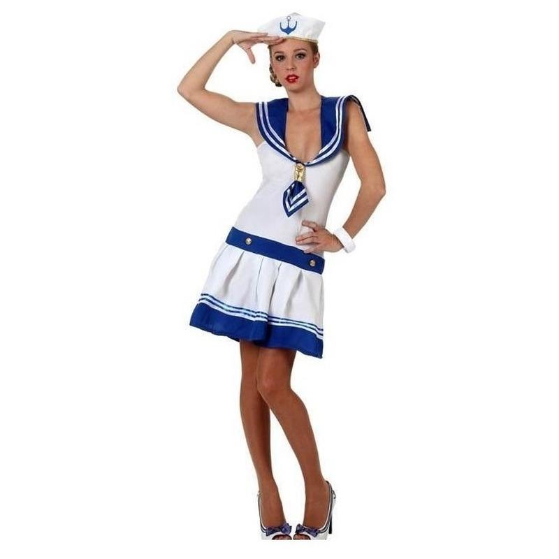 Matroos/matrozen verkleed kostuum voor dames
