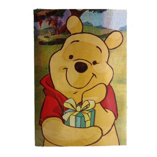Mega verjaardagskaart Winnie de Poeh