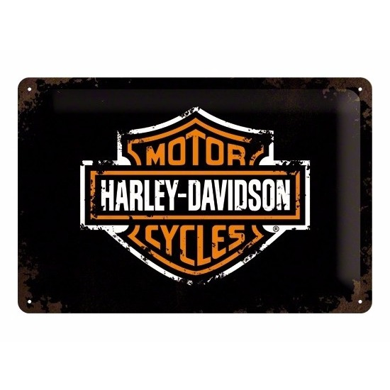 Motor decoratie Harley Davidson