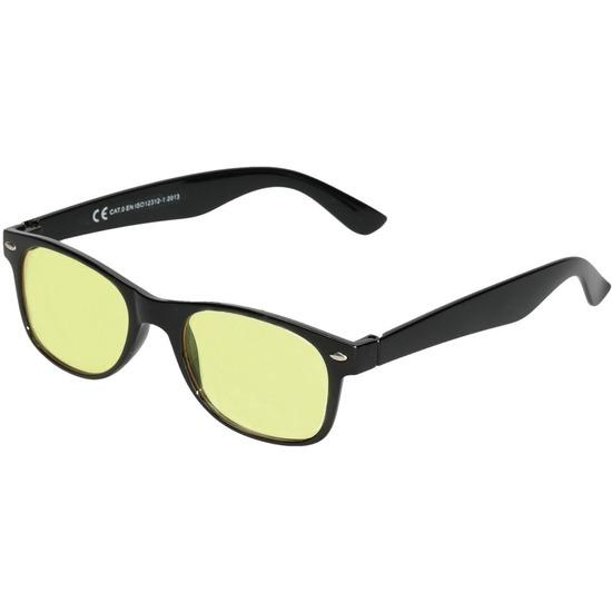 Nachtzichtbril zwart voor volwassenen