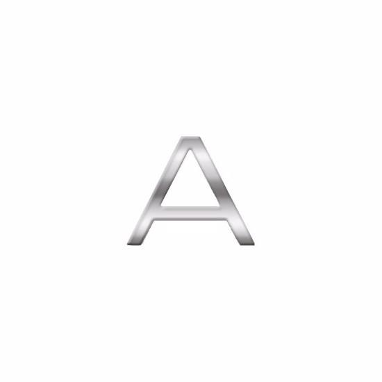 Namen stickers letter A van 2,5 cm