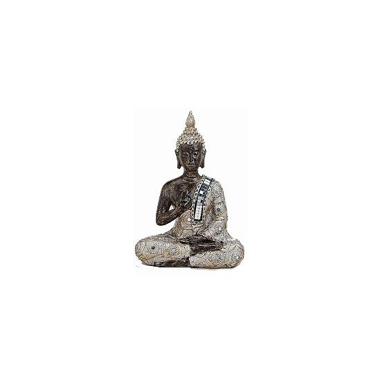 Polystone Boeddha beelden 21 cm