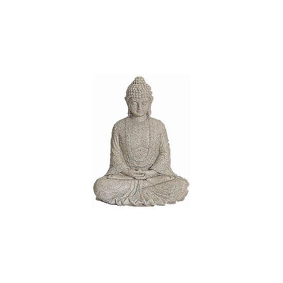 Polystone Boeddha beelden 23 cm