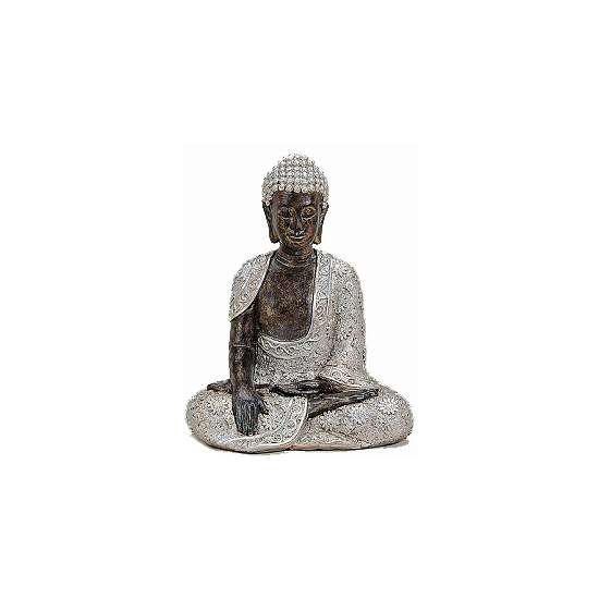 Polystone Boeddha beelden 29 cm
