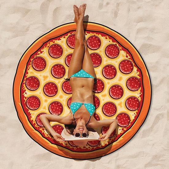 Rond badlaken pizza 150 cm
